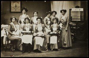 Waitresses at Tea